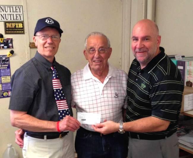 Guard donates to Nutley Family Service