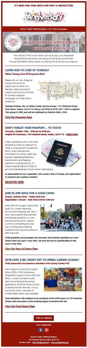 NFSB 2017 Fall E-Newsletter