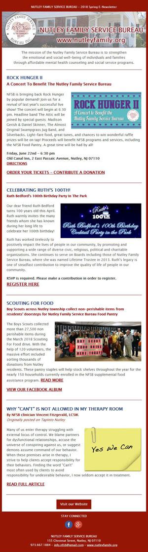 NFSB Quarterly E-Newsletter