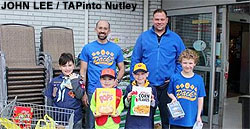Boy Scouts Shoprite Donation