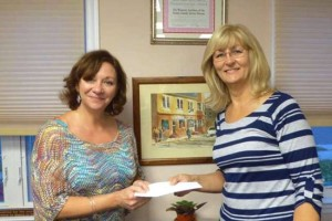 Nutley organization accepts contribution