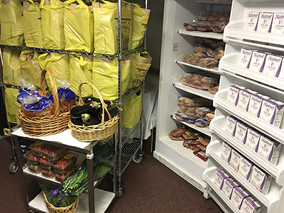 Food Pantry at St. Paul's Church