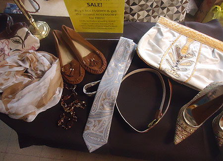 NFSB Thrift Shop Spring Accessories Sale
