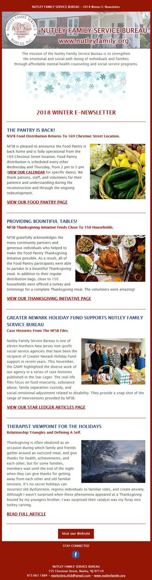 NFSB Winter 2018 E-Newsletter