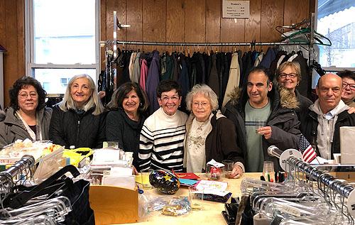 Thrift Shop Volunteers