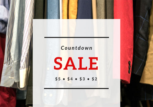 Count-Down Sale