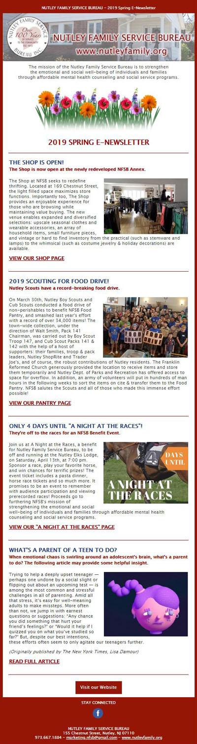 Spring E-Newsletter