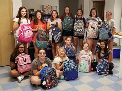 Back Pack Initiative Volunteers