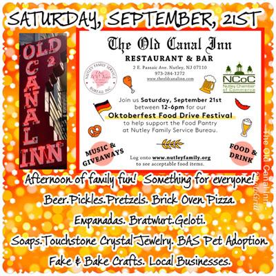 Oktoberfest Food Drive Festival