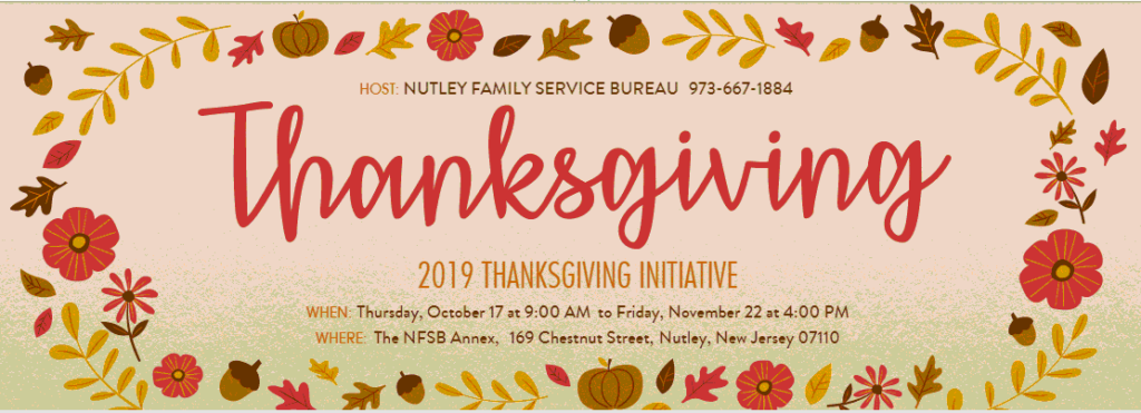 2019 Thanksgiving Initiative