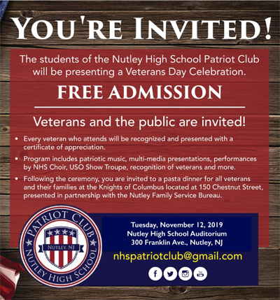 NHS Veterans Day Event