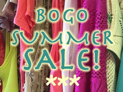 Bogo Summer Sale