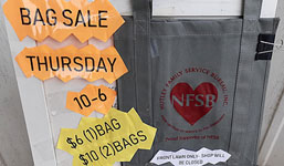 NFSB Fill-up Bag Sale
