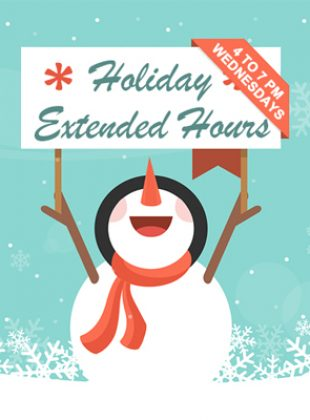 The Shop Extended Hours