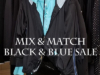 Mix & Match Black & Blue