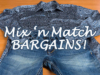 Mix 'n Match Bargains